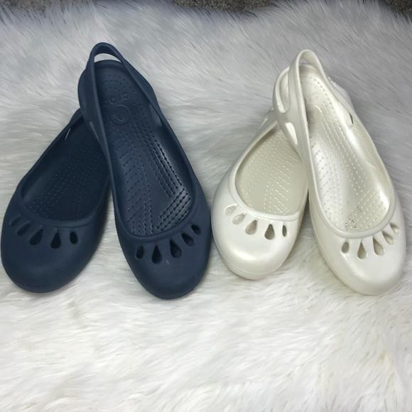 CROCS Shoes   2 Pairs Of Crocs Blue
